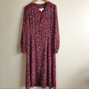 Michael Kors Georgette Woodland Dress
